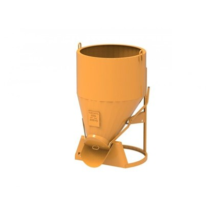 Image of Upright Coneflow Concrete Skip - 1