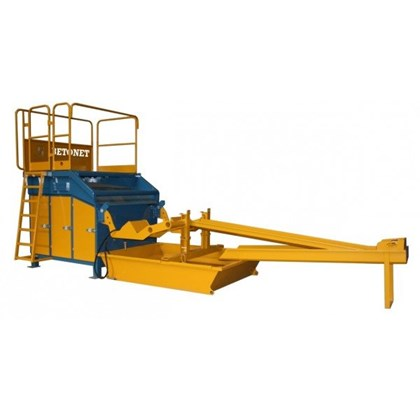 Image of Concrete Skip Washing Platform - 3