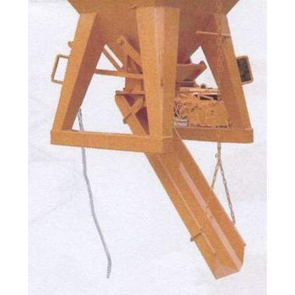 Image of Concrete Skip Discharge Chute - 1