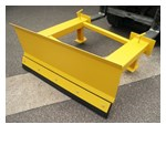 View WSP Forklift Snow Plough
